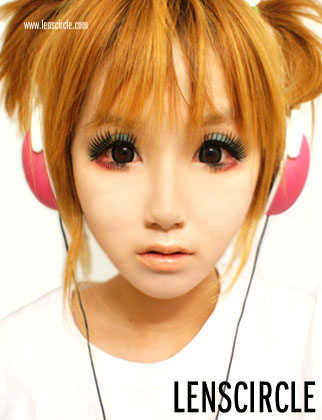dream grey circle lenses