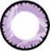 purple crystal color lens