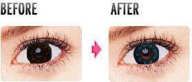 before wearing circle lenses