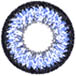 blue super nudy circle lens