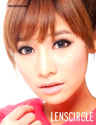 grey super nudy circle contact lenses