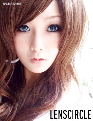 blue twlight circle contact lenses
