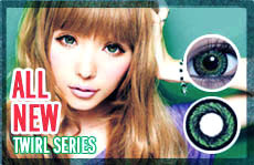 twirl series circle lenses