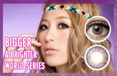 world series 3 tone circle lenses